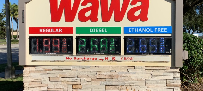 Gas Prices Dropped as 2018 Ended: January 7 – 11